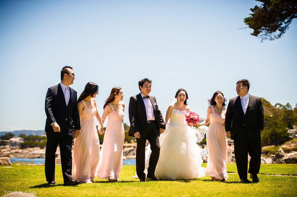 Lovers Point Park Wedding Monterey Wenping & Li  San Francisco Bay Area 旧金山湾区 洛杉矶婚礼婚纱照摄影师 Tommy Xing Photography 119.jpg