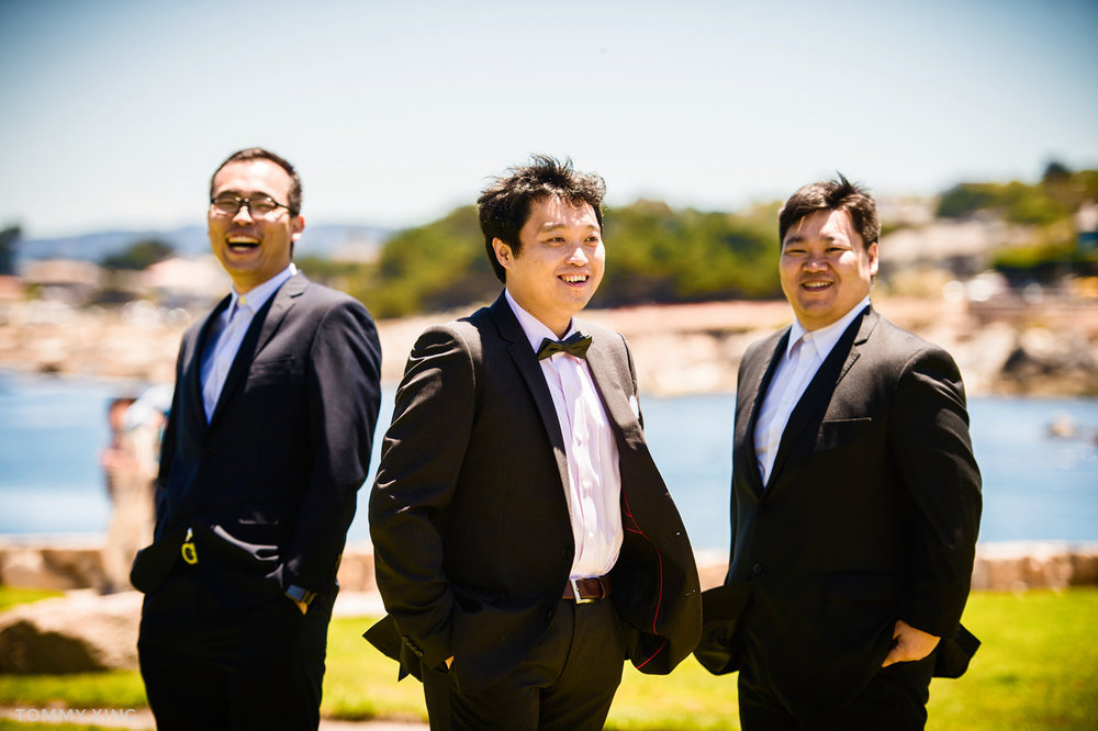 Lovers Point Park Wedding Monterey Wenping & Li  San Francisco Bay Area 旧金山湾区 洛杉矶婚礼婚纱照摄影师 Tommy Xing Photography 121.jpg