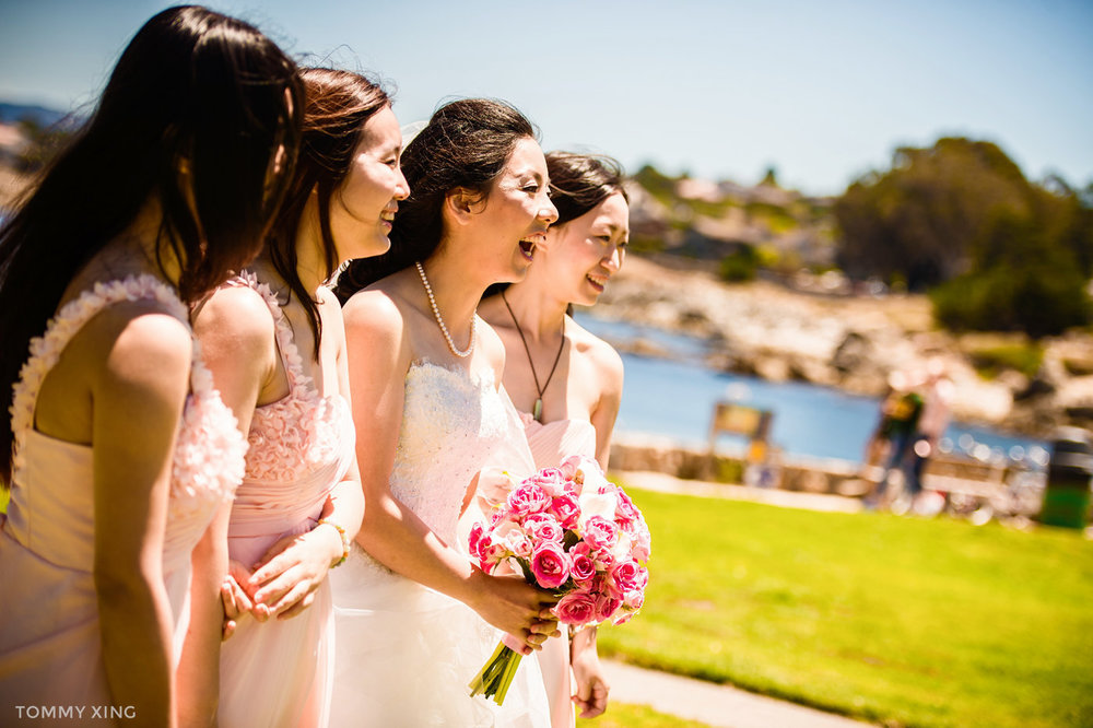 Lovers Point Park Wedding Monterey Wenping & Li  San Francisco Bay Area 旧金山湾区 洛杉矶婚礼婚纱照摄影师 Tommy Xing Photography 122.jpg