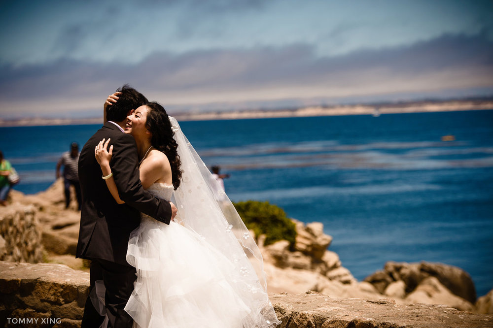 Lovers Point Park Wedding Monterey Wenping & Li  San Francisco Bay Area 旧金山湾区 洛杉矶婚礼婚纱照摄影师 Tommy Xing Photography 123.jpg