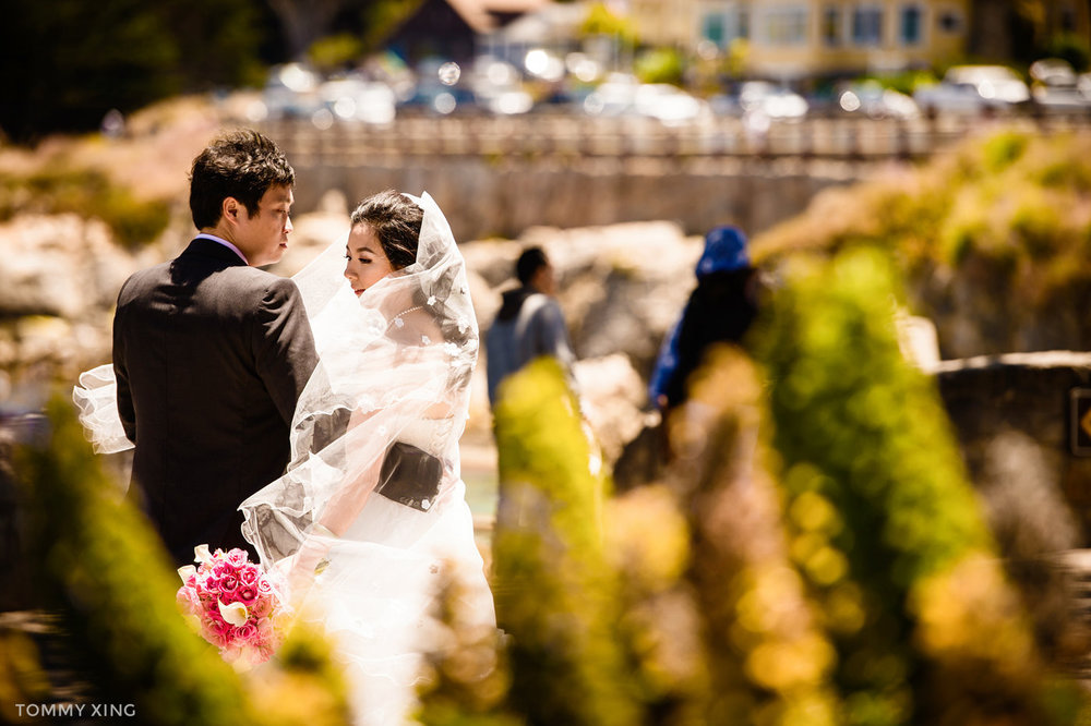 Lovers Point Park Wedding Monterey Wenping & Li  San Francisco Bay Area 旧金山湾区 洛杉矶婚礼婚纱照摄影师 Tommy Xing Photography 124.jpg