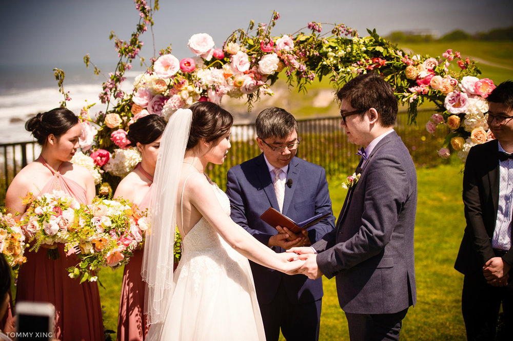 Edith Ho & Ryan Tan Ritz Carlton Half Moon Bay Wedding 旧金山湾区半月湾丽思卡尔顿婚礼 Tommy Xing Photography 08.jpg