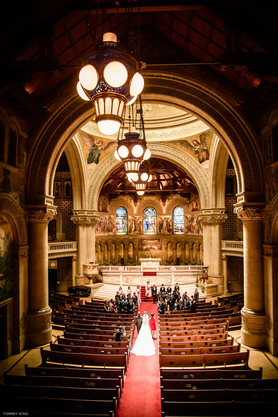 stanford memorial church wedding 旧金山湾区斯坦福教堂婚礼 Tommy Xing Photography 045.jpg