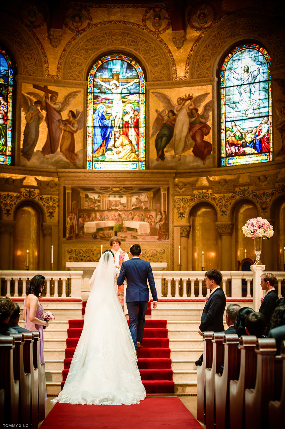 stanford memorial church wedding 旧金山湾区斯坦福教堂婚礼 Tommy Xing Photography 063.jpg