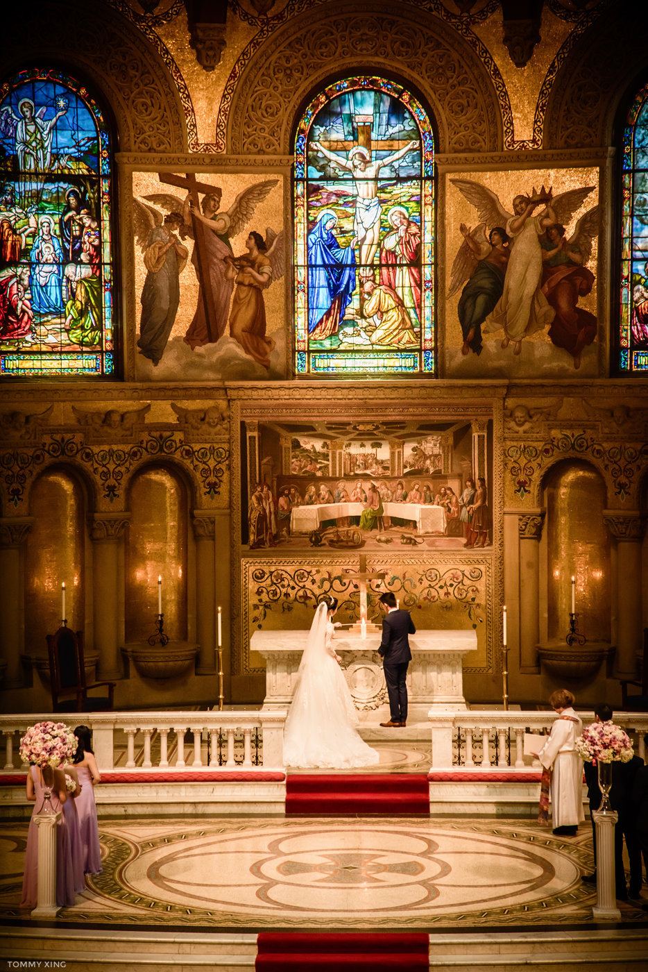 stanford memorial church wedding 旧金山湾区斯坦福教堂婚礼 Tommy Xing Photography 075.jpg