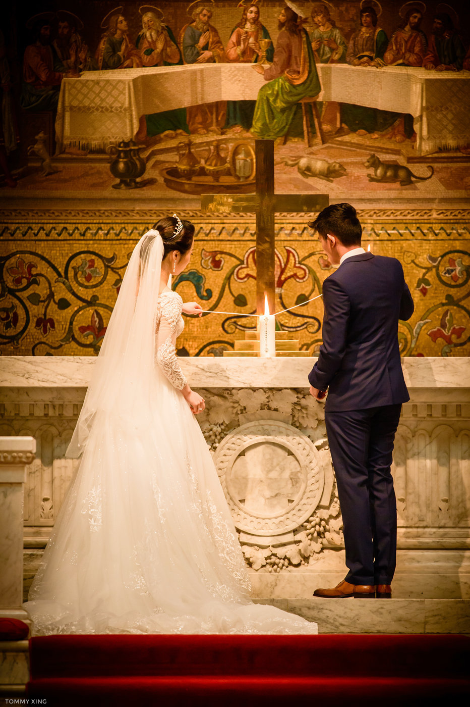 stanford memorial church wedding 旧金山湾区斯坦福教堂婚礼 Tommy Xing Photography 076.jpg