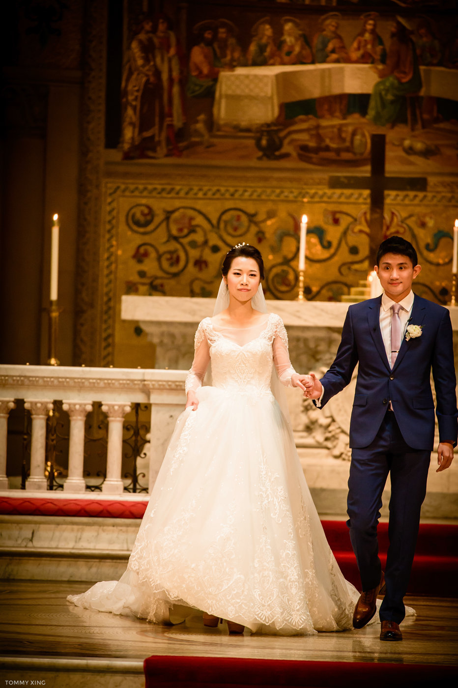 stanford memorial church wedding 旧金山湾区斯坦福教堂婚礼 Tommy Xing Photography 079.jpg