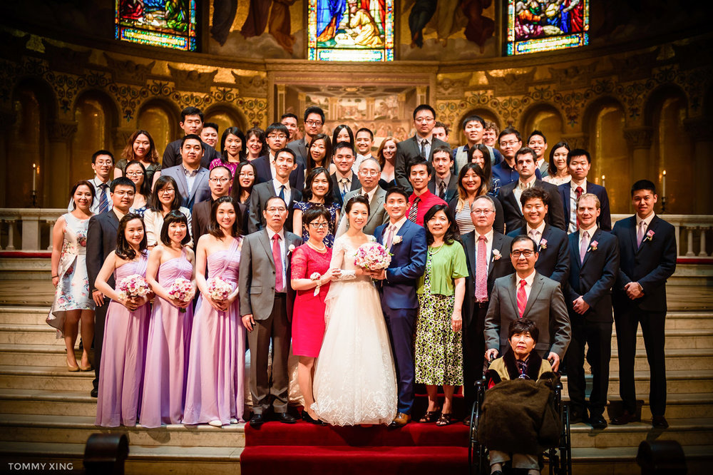 stanford memorial church wedding 旧金山湾区斯坦福教堂婚礼 Tommy Xing Photography 093.jpg