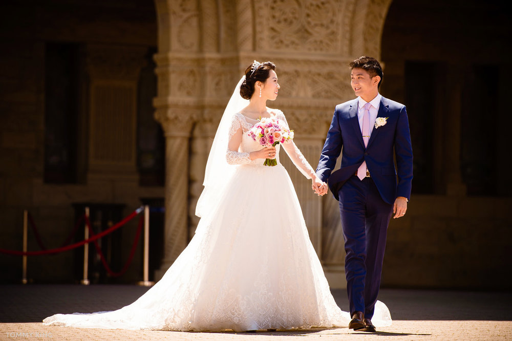 stanford memorial church wedding 旧金山湾区斯坦福教堂婚礼 Tommy Xing Photography 095.jpg