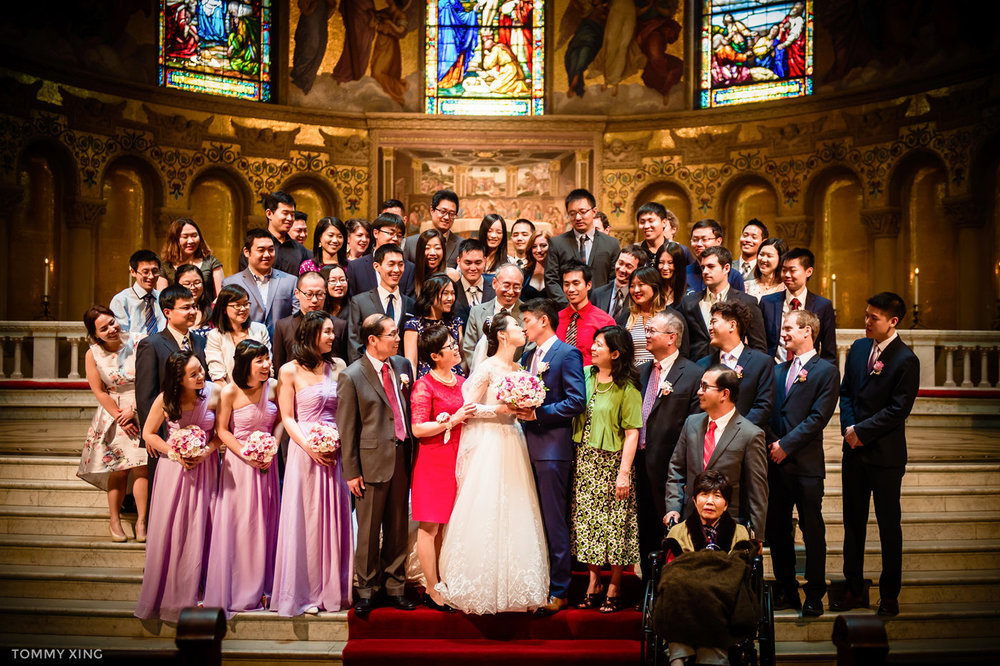 stanford memorial church wedding 旧金山湾区斯坦福教堂婚礼 Tommy Xing Photography 094.jpg