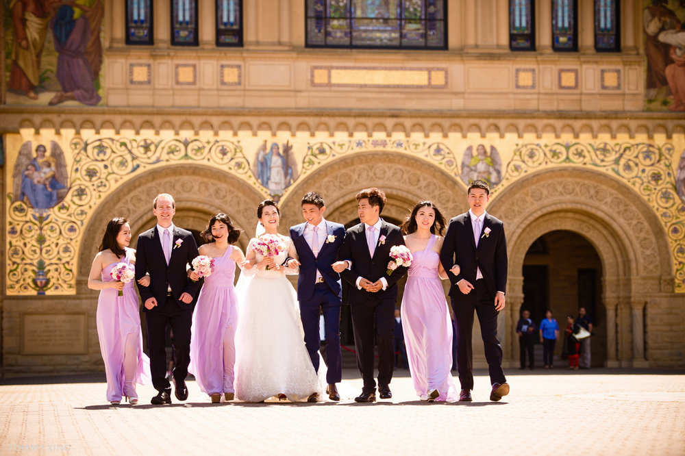 stanford memorial church wedding 旧金山湾区斯坦福教堂婚礼 Tommy Xing Photography 096.jpg
