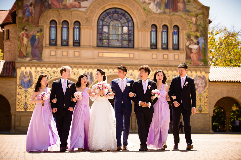 stanford memorial church wedding 旧金山湾区斯坦福教堂婚礼 Tommy Xing Photography 097.jpg