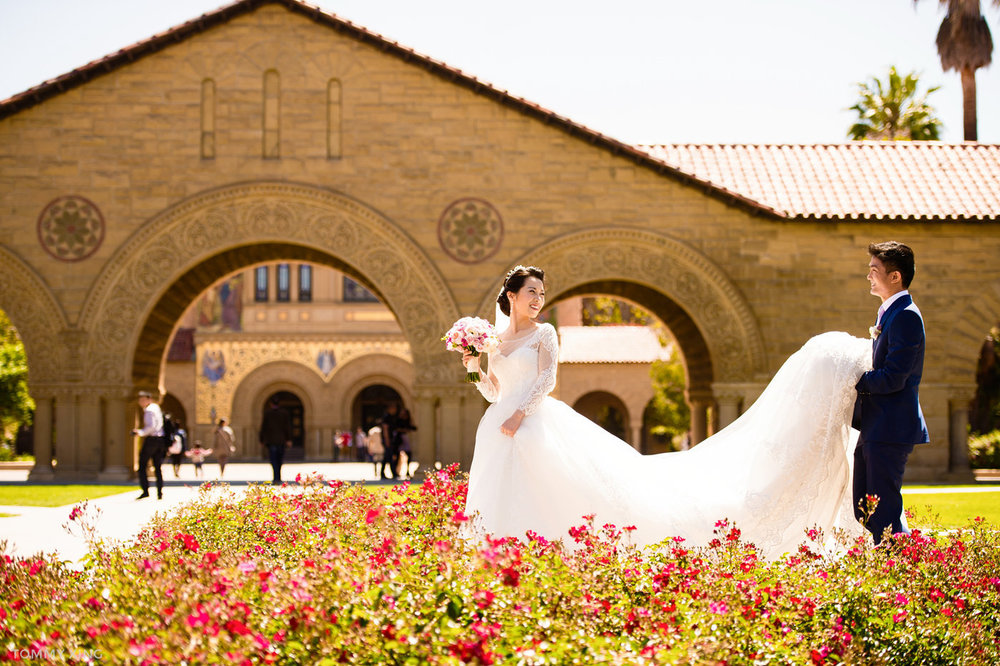 stanford memorial church wedding 旧金山湾区斯坦福教堂婚礼 Tommy Xing Photography 099.jpg