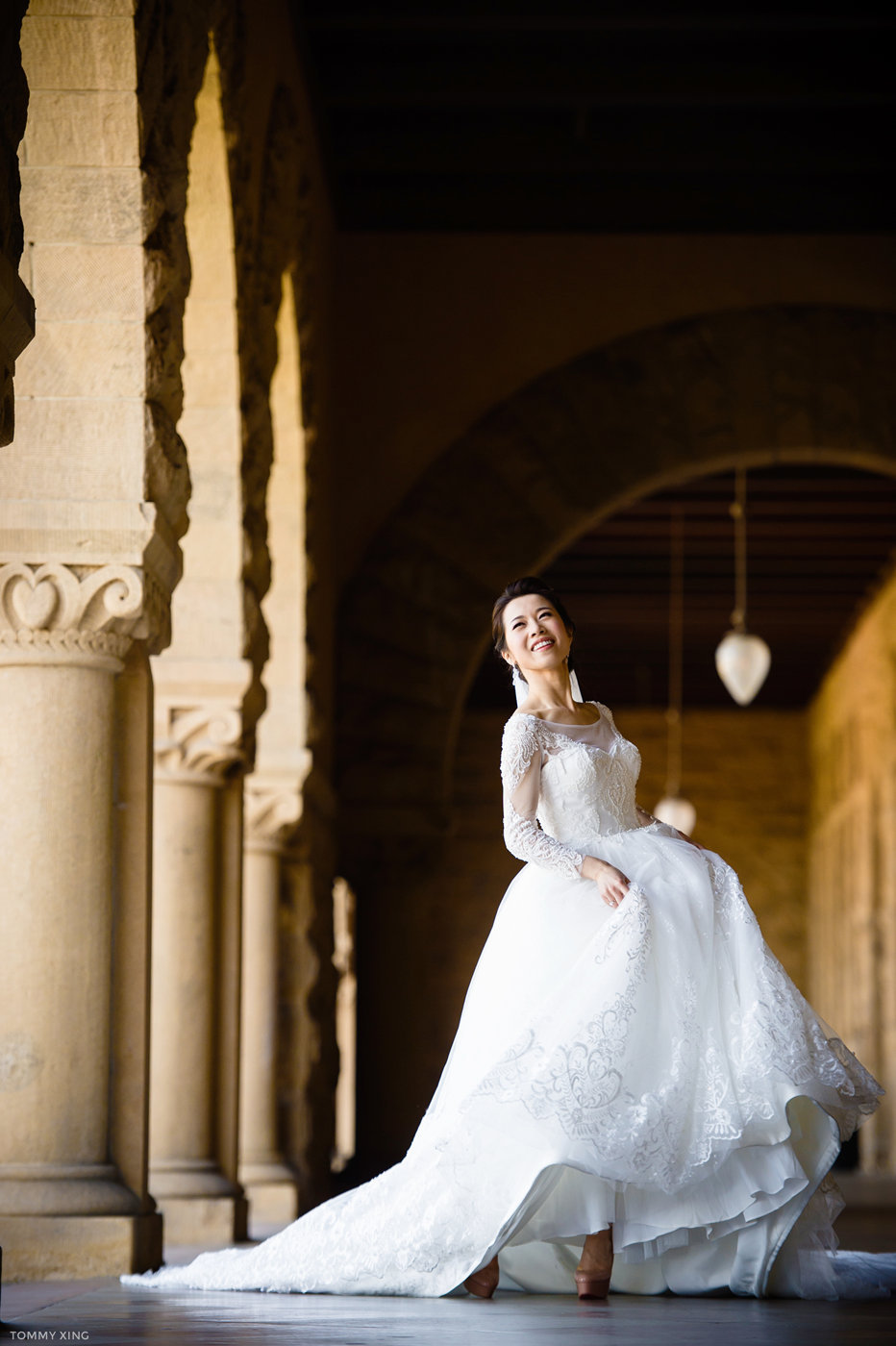 stanford memorial church wedding 旧金山湾区斯坦福教堂婚礼 Tommy Xing Photography 100.jpg