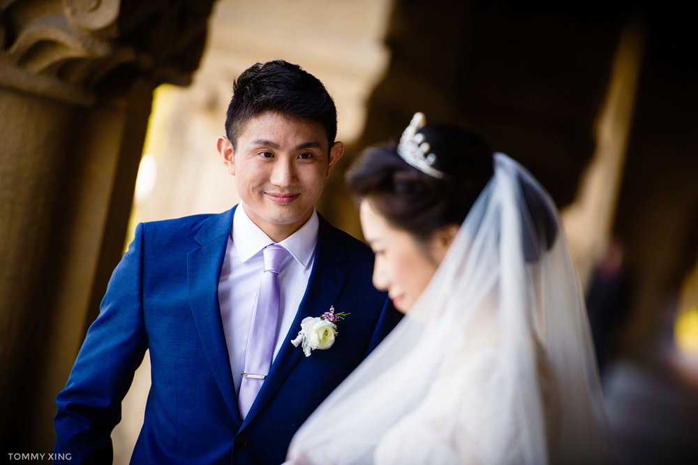 stanford memorial church wedding 旧金山湾区斯坦福教堂婚礼 Tommy Xing Photography 104.jpg