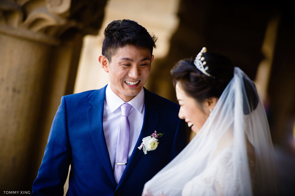 stanford memorial church wedding 旧金山湾区斯坦福教堂婚礼 Tommy Xing Photography 105.jpg