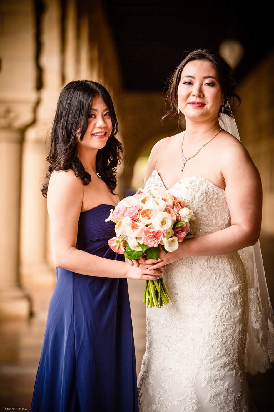 STANFORD MEMORIAL CHURCH WEDDING - Wenjie & Chengcheng - SAN FRANCISCO BAY AREA 斯坦福教堂婚礼跟拍 - 洛杉矶婚礼婚纱照摄影师 Tommy Xing Photography145.jpg
