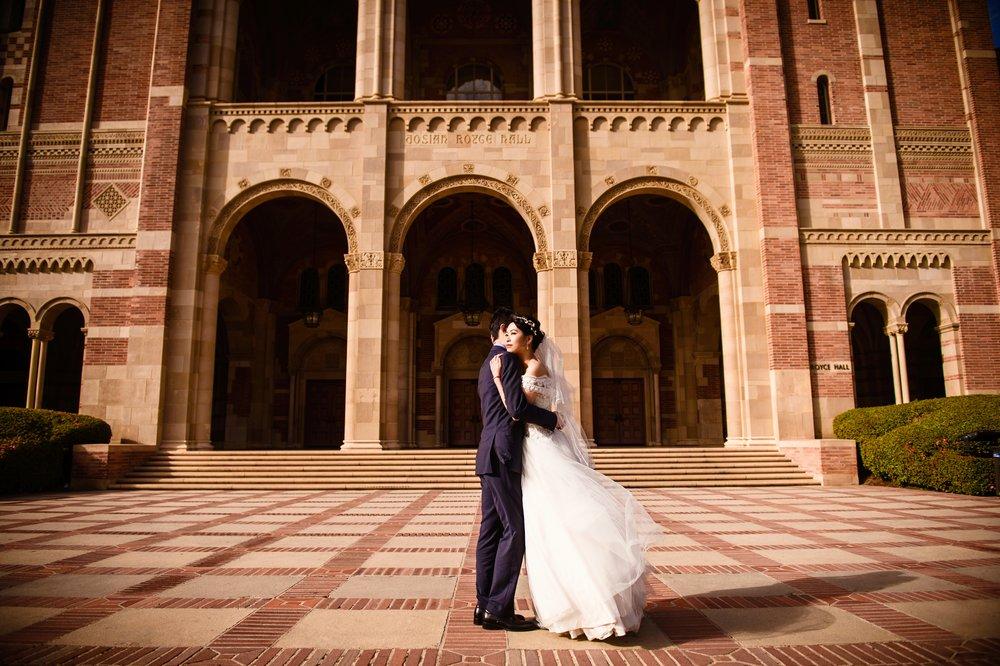 UCLA 婚纱照