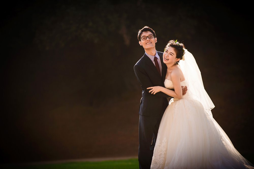 洛杉矶 los angeles griffith park pre wedding 婚纱照
