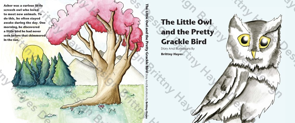 The Little Owl and the Pretty Grackle Bird Cover FINAL Watermark.jpg