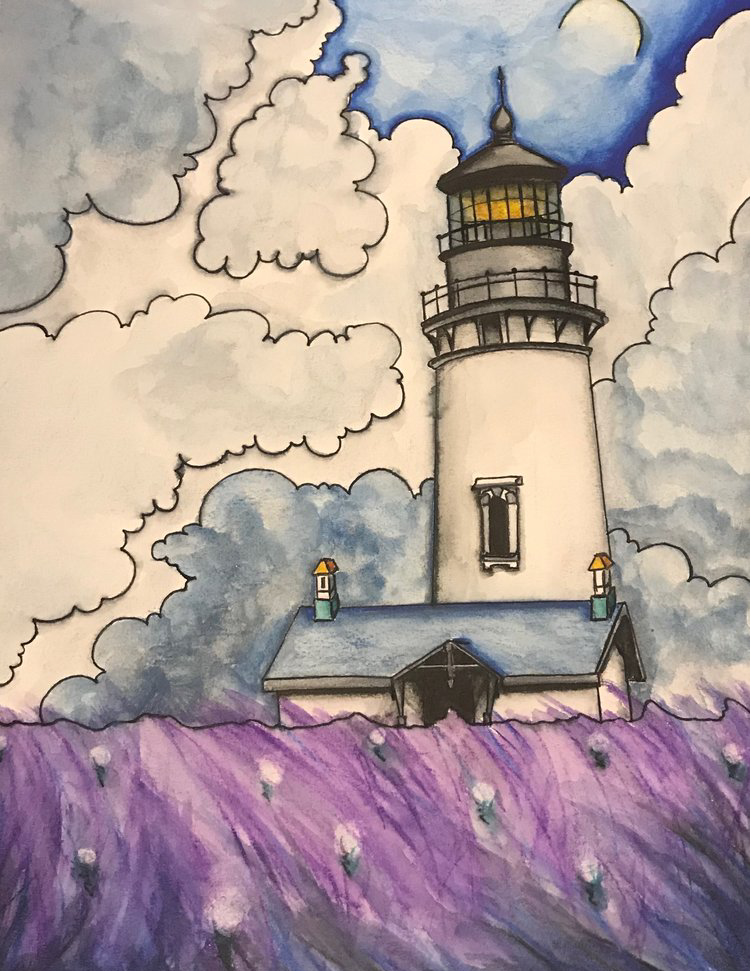 Traditional Art - A compilation of traditional art. There are mediums ranging from: Acrylic paint, ink, colored pencil, water color, water color pencil.