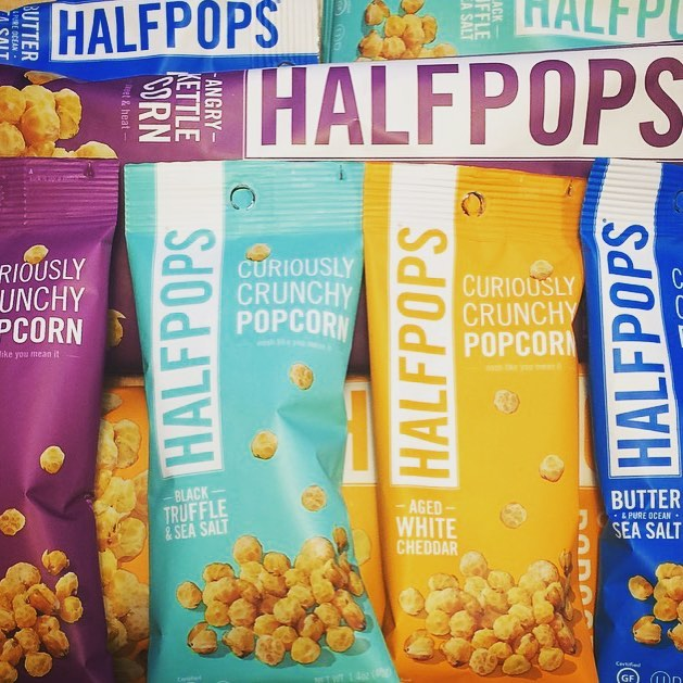 Curiously Crunchy Popcorn from Half Pops