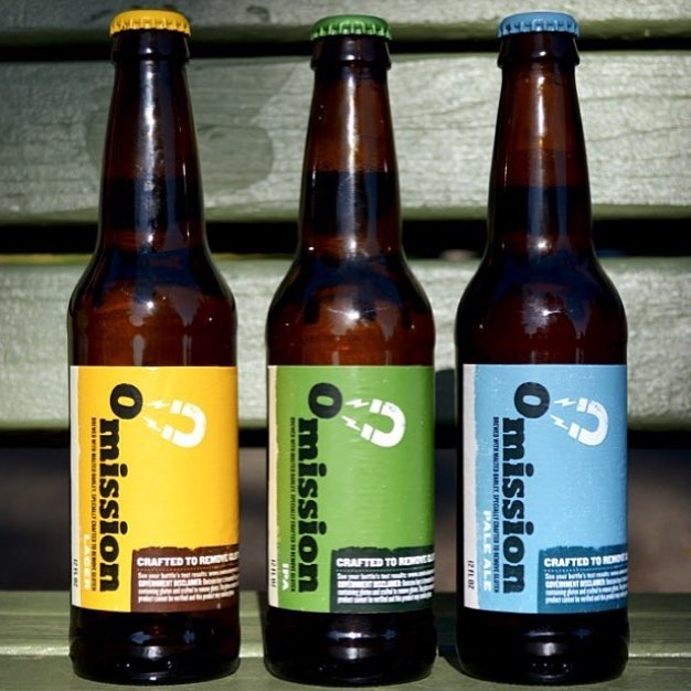 Gluten Free beers by Omission