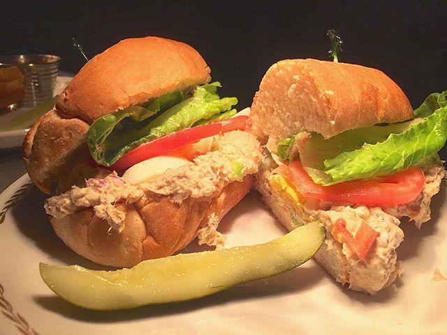 Get your lent on 🐟 . . . #tunafishsalad #Pgh #Lent #tunafishsandwich #sandwich #RoastedPgh #PittsburghFish