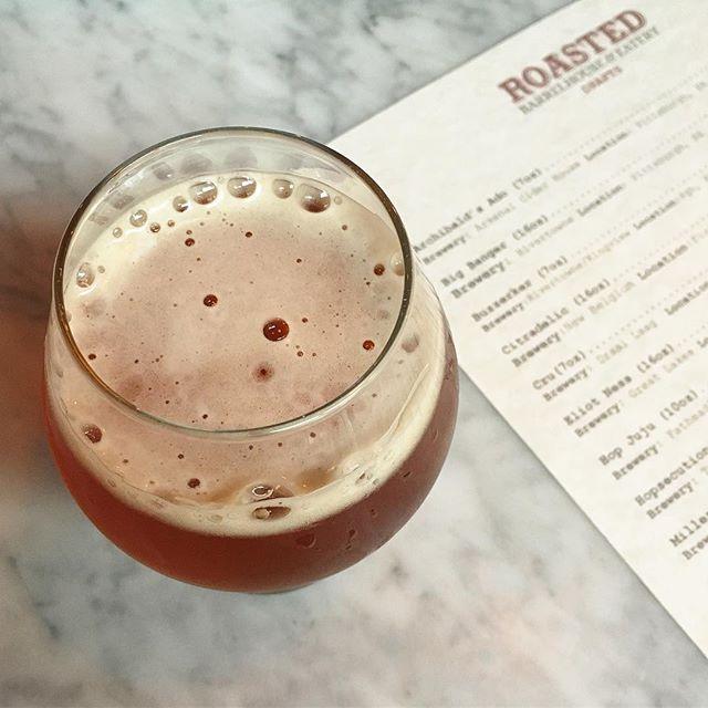 New on tap 🍺: @rivertownebrewing / @kingviewmead Buzzerker. Sahti w/ Juniper & Honey. ABV: 10%. Friday is here. Beer is here.