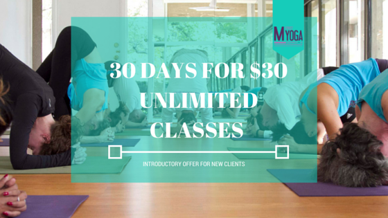 30 days $30 m street yoga