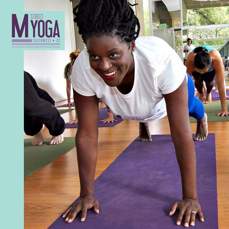 Flow Clinic with Erica Ford at M Street Yoga