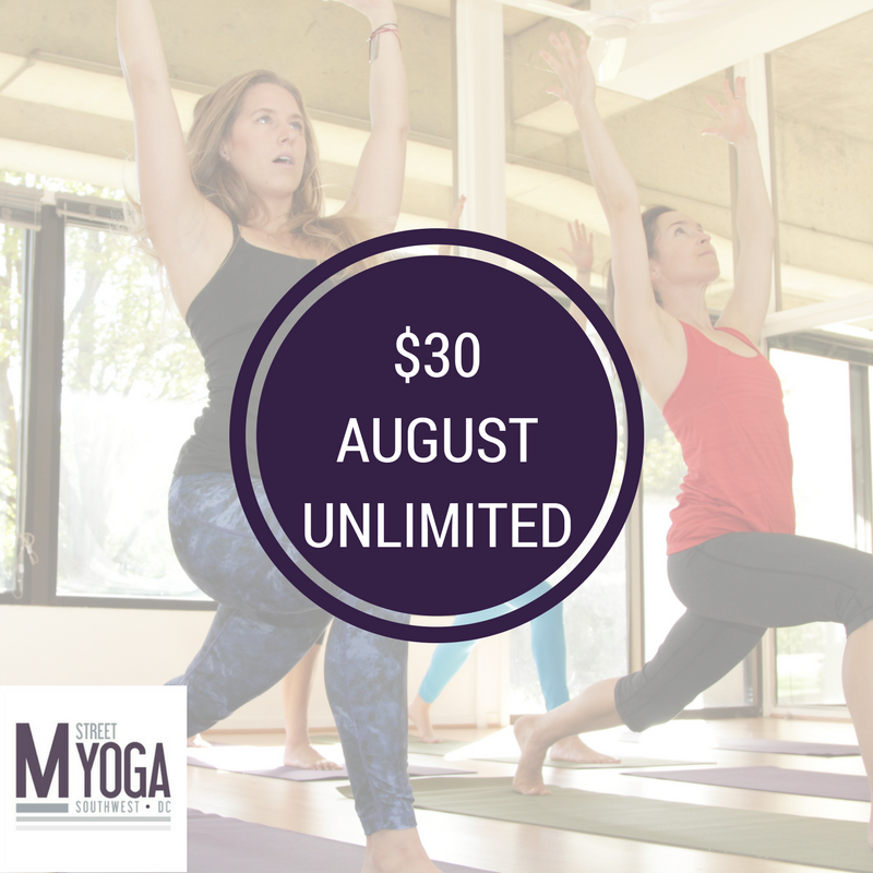 august unlimited yoga m street yoga