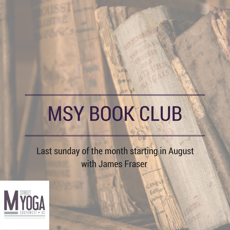 m street yoga book club