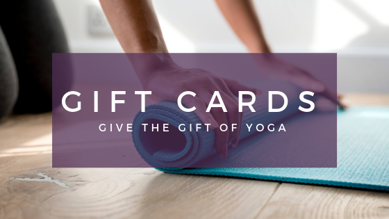 M Street Yoga gift cards