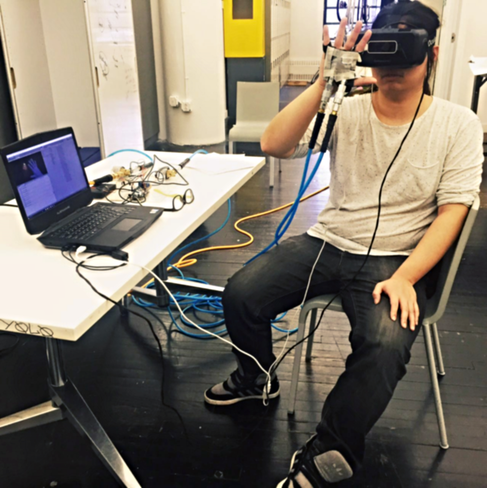 Working on VR