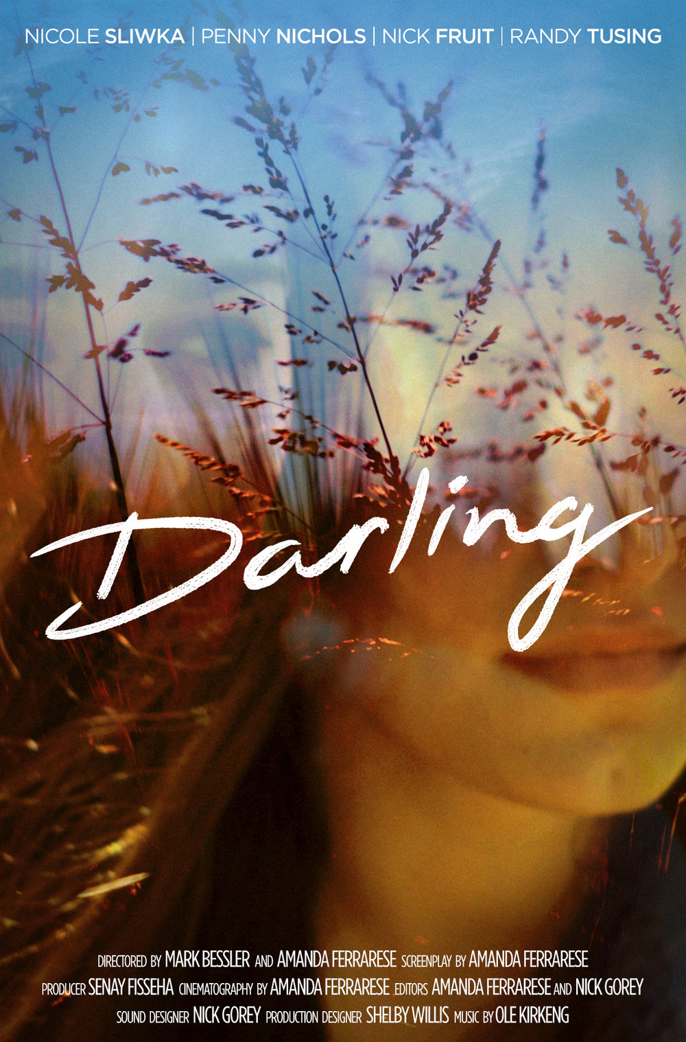 Darling - Poster design for Darling, a short film by Amanda Ferrarese.←back