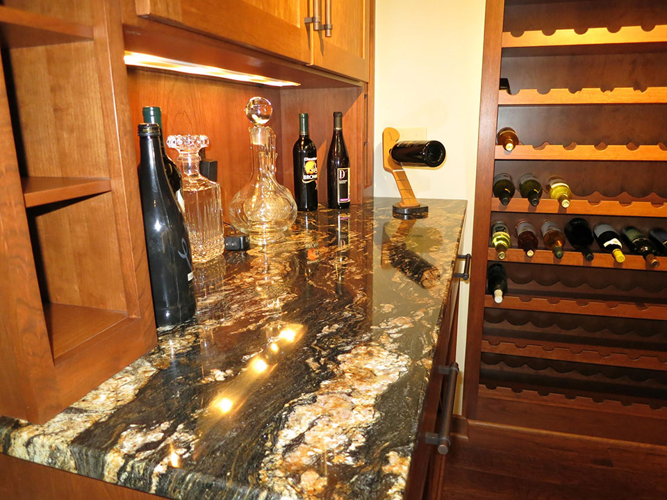 transformed wine cellar