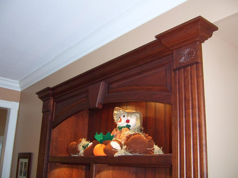 extremely satisfied custom woodwork customer