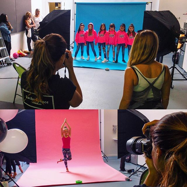 @gforcedreambig doing a big multi-shoot at the studio. These girls have accomplished more by age 11 than we have by... the age that we are. #photography #girlband #toronto #skylight #wardrobe #studio #newalbum #actor #singer #moms #pink #blue #backdrops