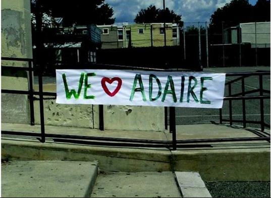 Photo Credit:  Friends of Adaire