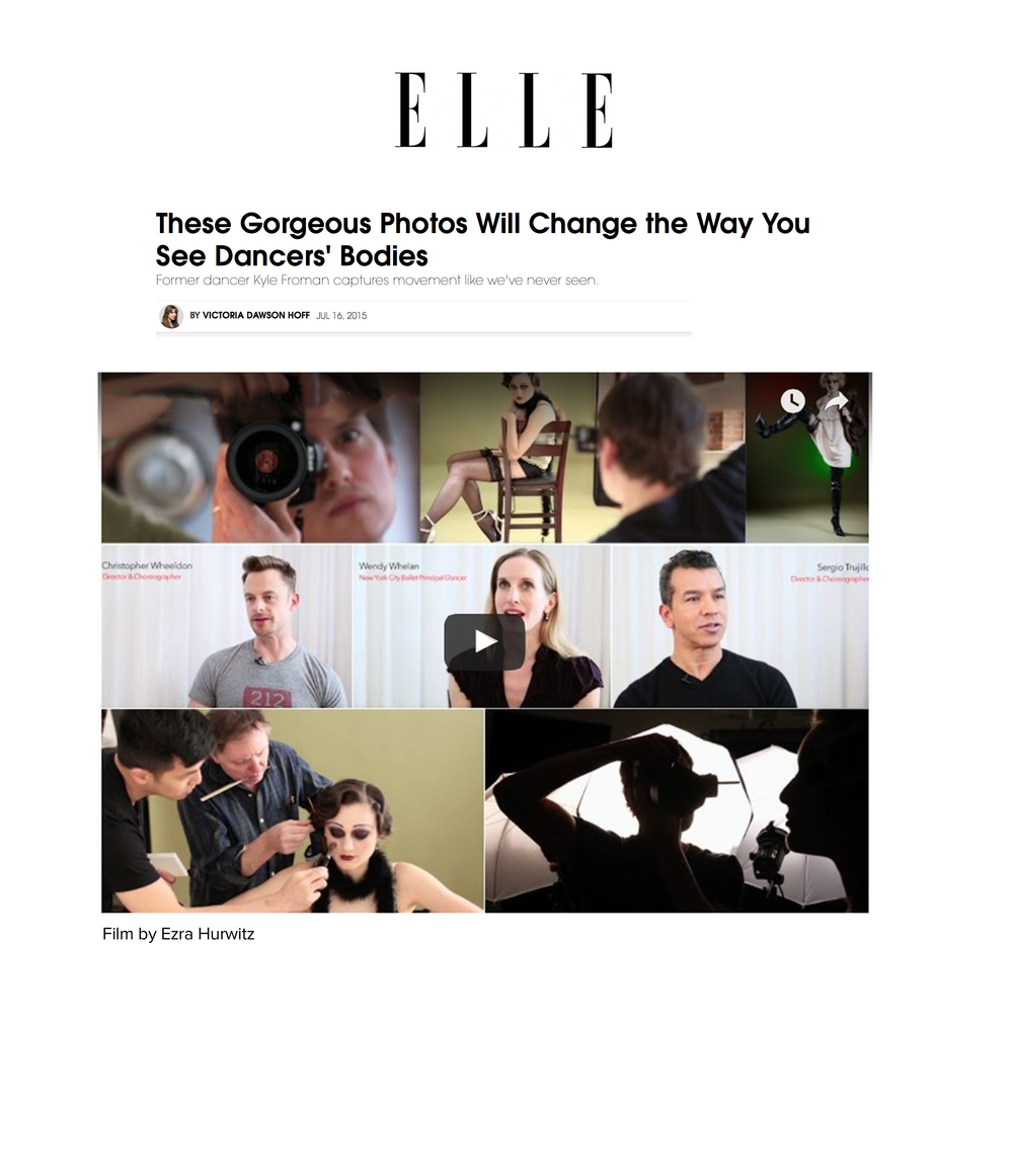 See the article on elle.com