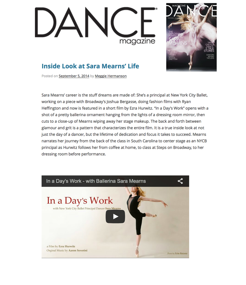 see article here on DaneMagazine.com