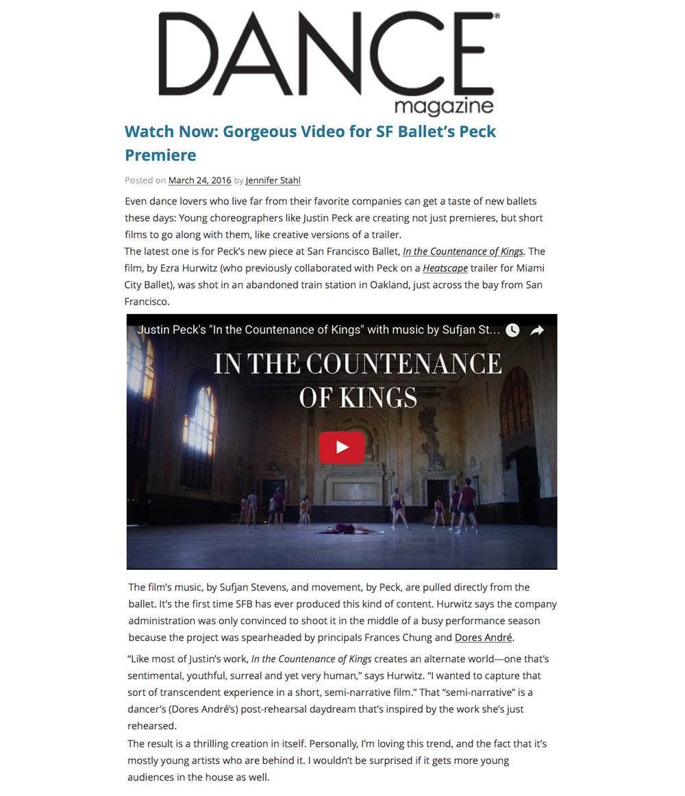 See the article on DaneMagazine.com
