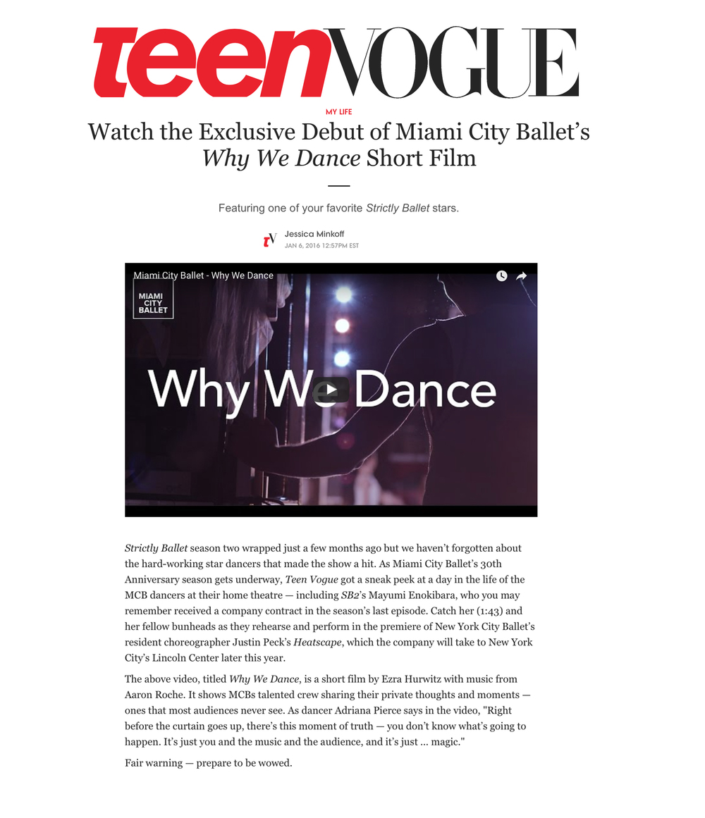 Read the article on teenvogue.com