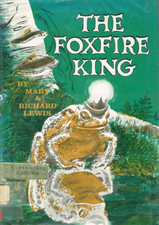 The Foxfire King  was written and illustrated by Harold's sister Mary & her husband Richard Lewis. It was the title of this children's book that inspired the name of the restaurant.