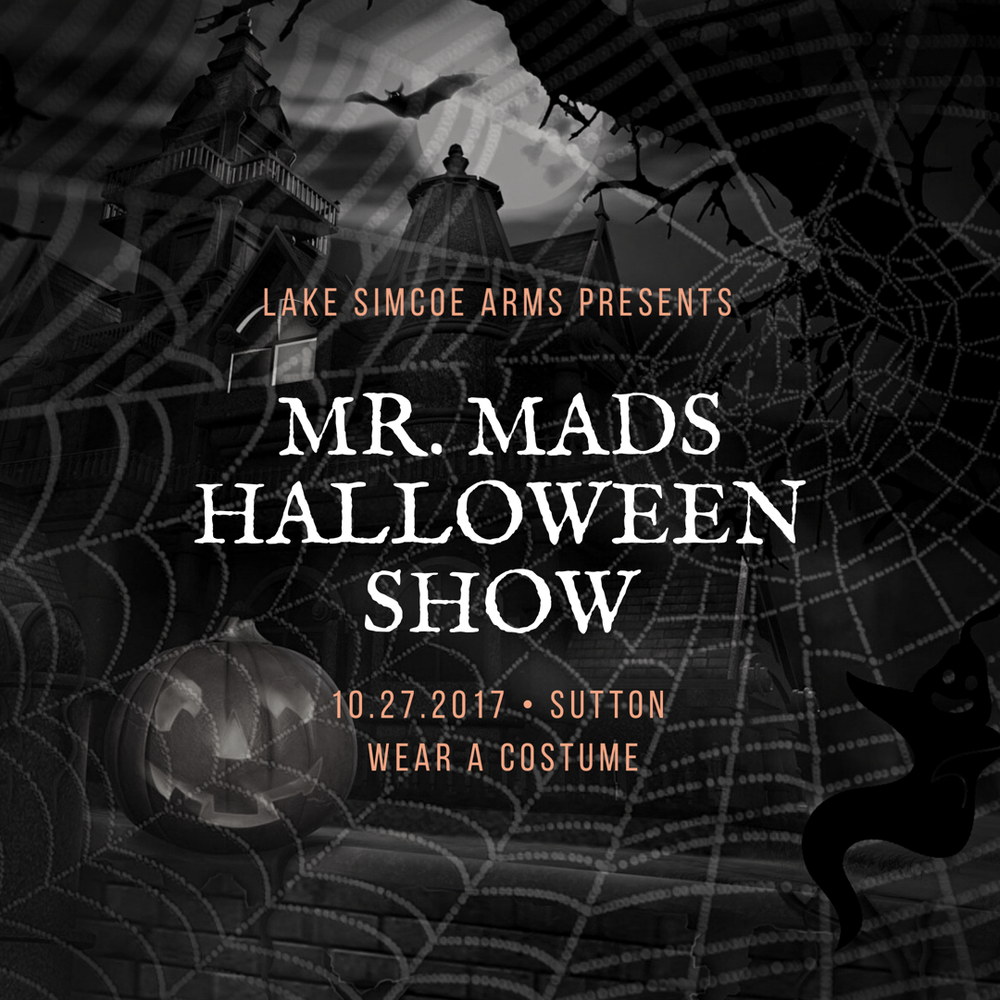 Friday, October 27th  Come get your spook on at our annual Halloween party! Entertainment will be provided by the one & only Mr. Mad 🎶 Dress to impress because we're giving amazing prizes for best costumes! Lots of prizes and giveaways! It's going to be a fangtastic night! Party starts at 9! 🎃
