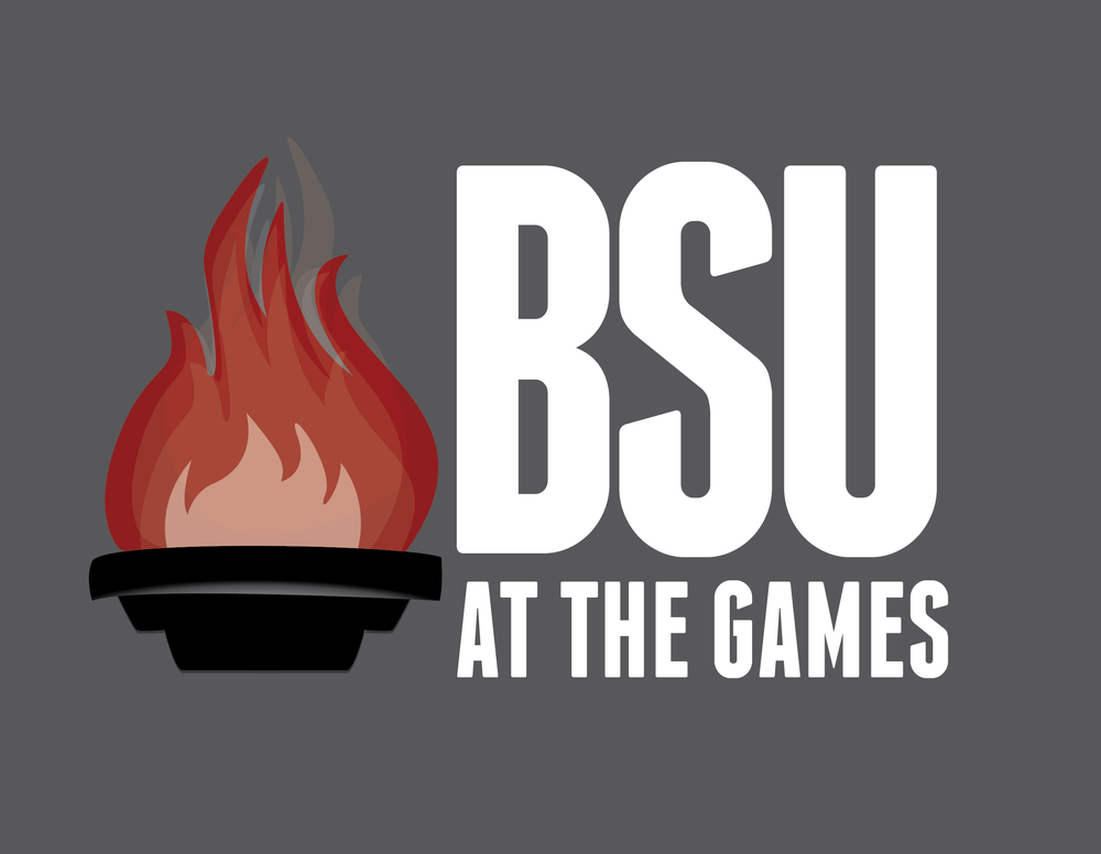 BSU at the Games Logo - 2