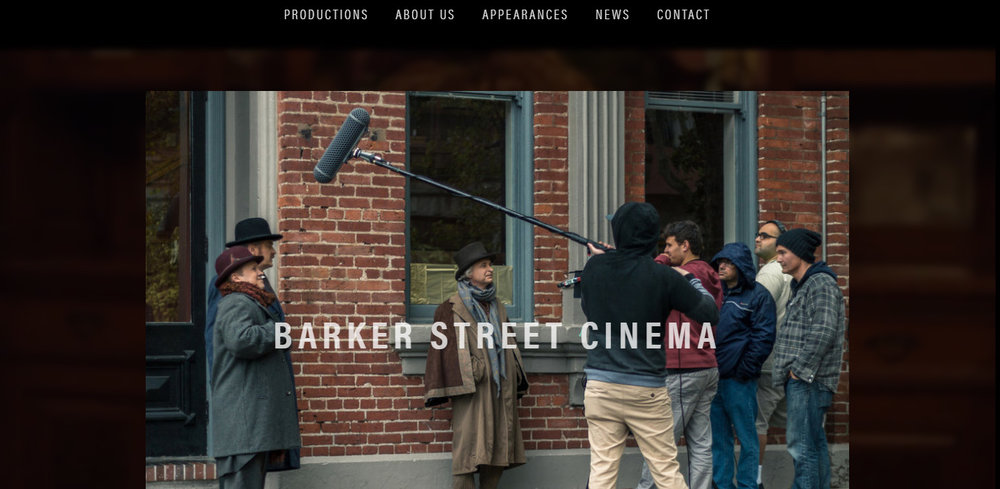 Barker Street Cinema    Website Design - August 2017