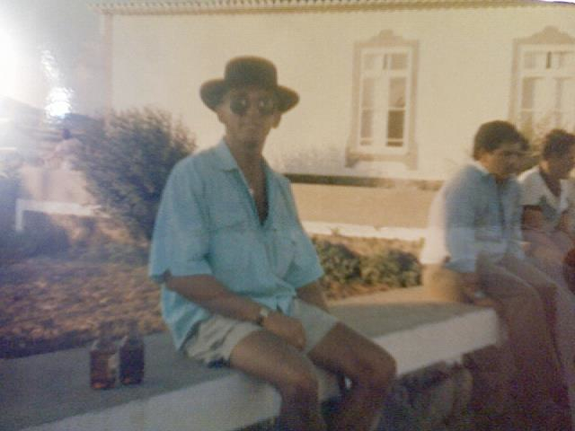 My father while stationed overseas in Portugal, mid 80s