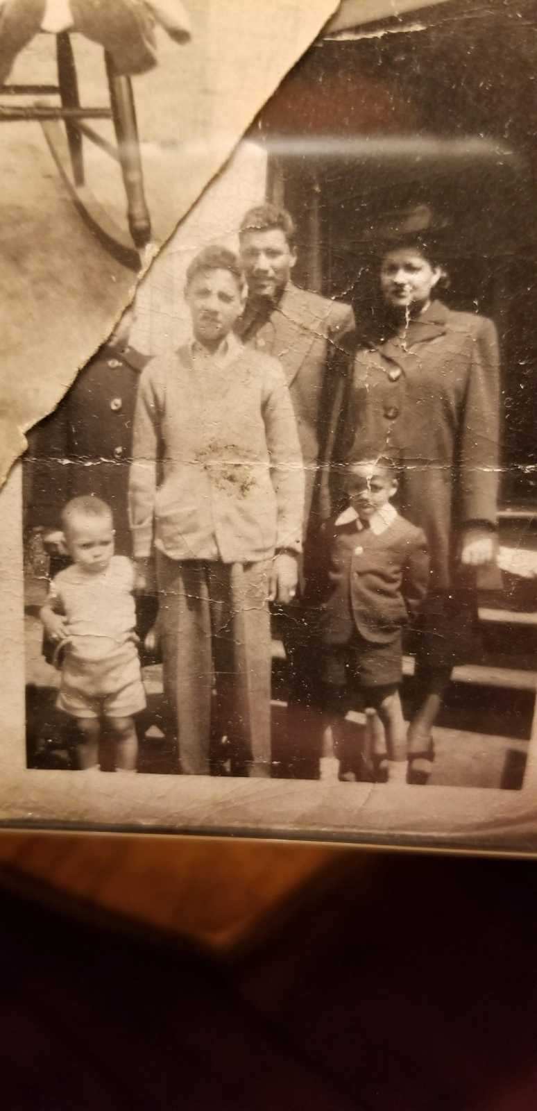 My great grand father, grandfather, his sister, newphews and sibling.